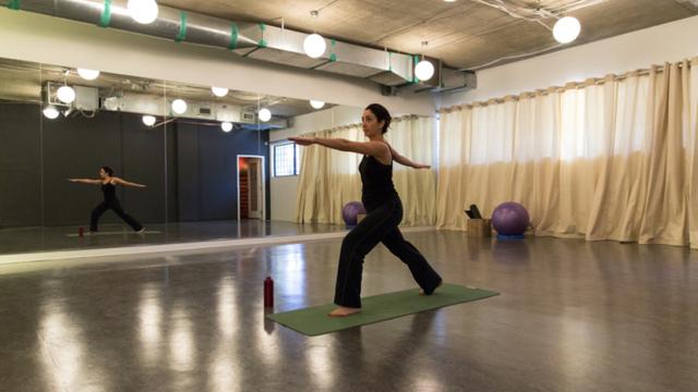 Một phòng tập Yoga tại Hootsuite