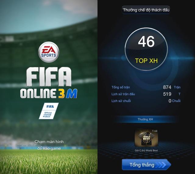 FIFA Online 3 Mobile chính thức Open Beta tại thị trường Việt Nam.