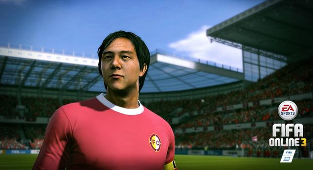 Danh thủ Huỳnh Đức trong FIFA Online 3 New Engine thật hơn bao giờ hết.