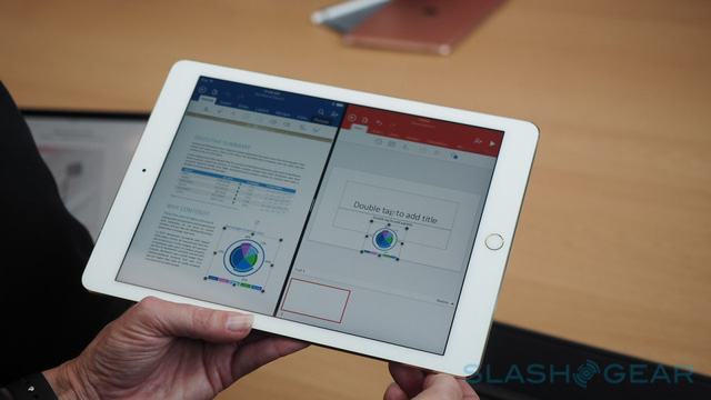 iPad Pro 9,7 inch cũng thừa hưởng kho ứng dụng lên tới con số 1 triệu.