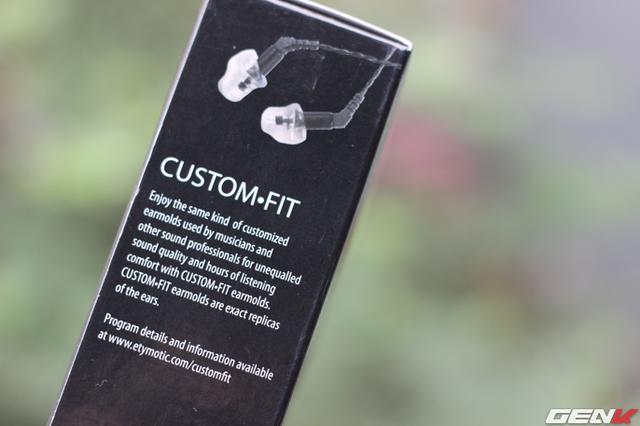 Etymotic cũng được biết đến là nhà sản xuất tai nghe custom-fit nổi tiếng