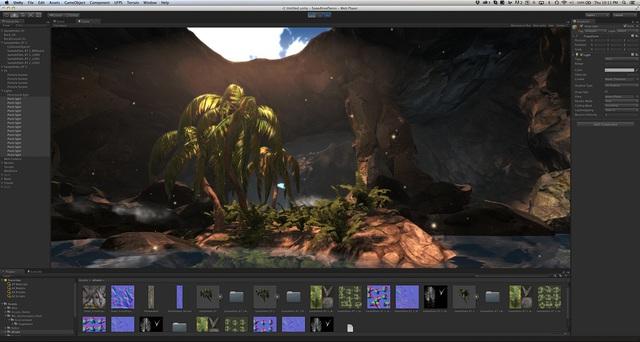 Giao diện hiện đại của Unity 3D ngày nay