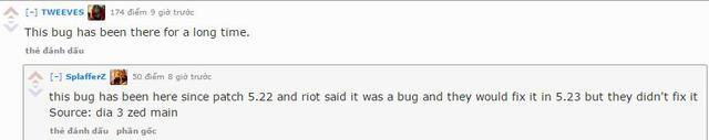 Riot cũng đã xác nhận nhưng chưa sửa.