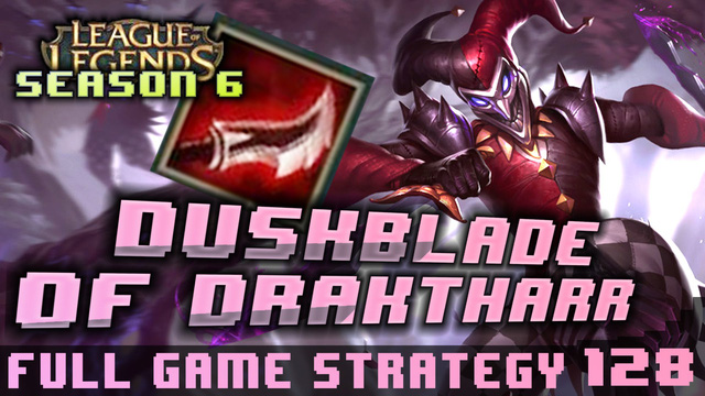 Hãy thử sức cùng Shaco với Dạ Kiếm Draktharr.