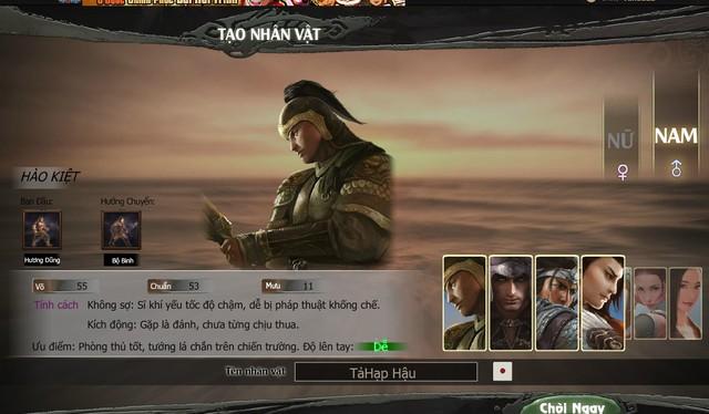 Hình ảnh, lối chơi của Hào Kiệt Tam Quốc vượt khỏi giới hạn cho một webgame
