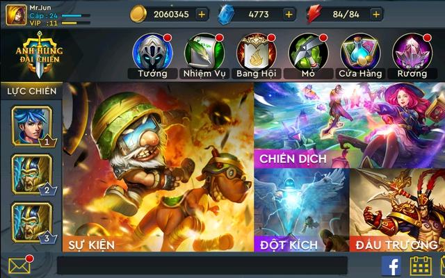 Game có nhiều chế độ khác nhau mang tới những lối chơi đa dạng: nhập vai, chiến thuật, MOBA…
