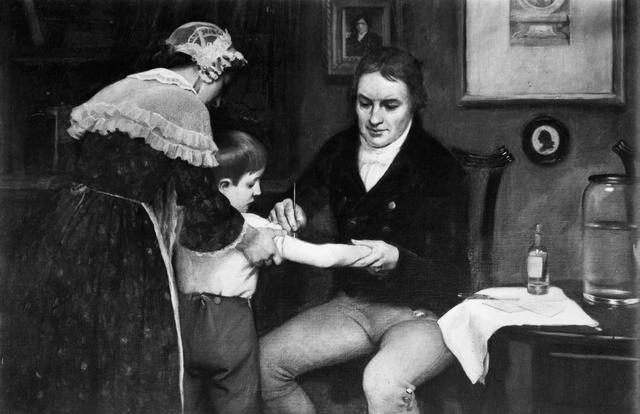 Cuộc thử nghiệm tìm ra vắc-xin chữa bệnh đậu mùa.