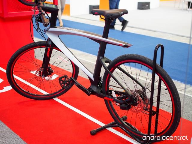 Chiếc xe đạp thông minh Le Syvrac mà LeEco vừa trình làng