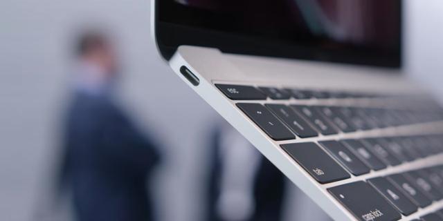 MacBook mới chỉ sở hữu một cổng USB-C duy nhất