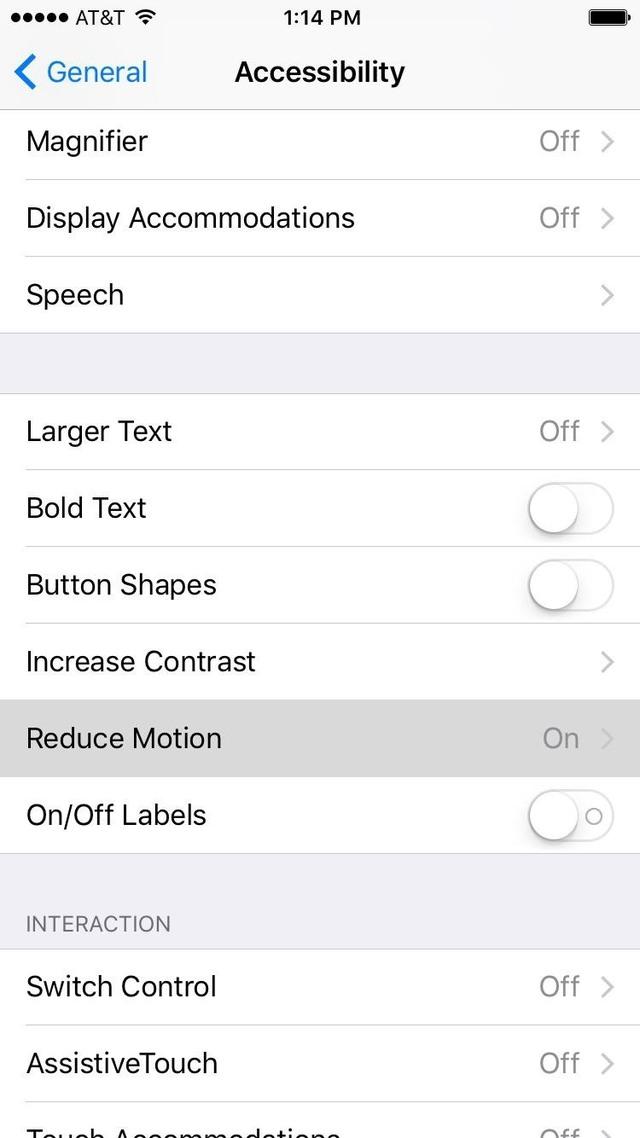 Bạn cần tắt tính năng Giảm chuyển động (Reduce Motion) ở Cài đặt trợ năng để hiệu ứng iMessage có thể hoạt động