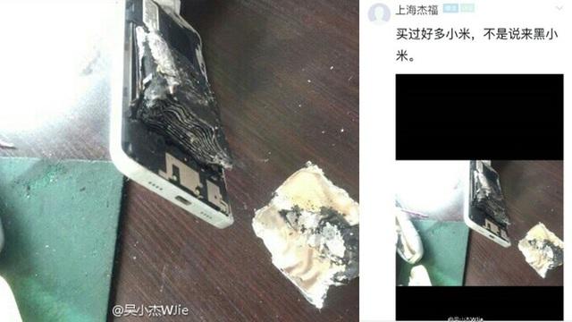 Xiaomi Mi 5 phát nổ tại Trung Quốc.