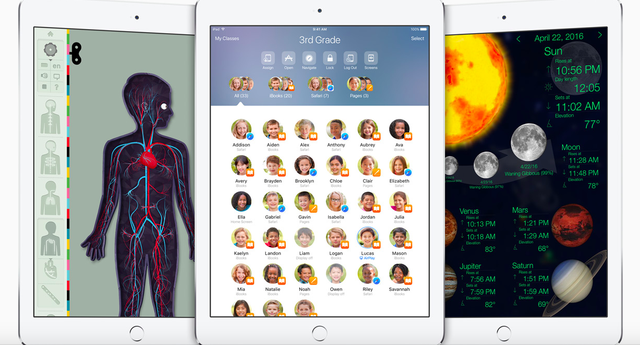Tính năng trường học mới giúp iPad biến thành các giáo cụ trực quan.