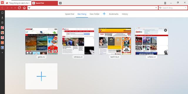 Tạo một thư mục lướt web riêng theo từng nhóm.