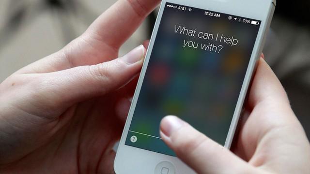 Siri trên iOS