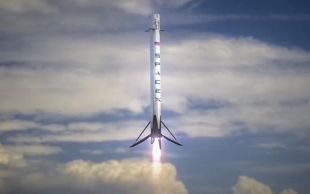 Falcon đã làm nên lịch sử vào ngày 8 tháng 4 năm 2016.