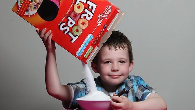 Cơn nghiện đường đang tấn công nhiều trẻ em