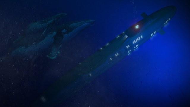 Bạn có thể chuyển con tàu sang chế độ tàu ngầm nếu muốn ngắm nhìn lòng biển xanh