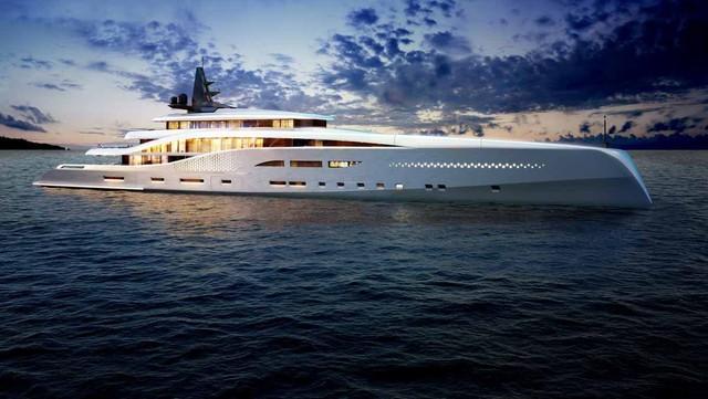 Siêu du thuyền này dài 107m. Có cabin dành riêng cho khách VIP và 6 cabin tiếp khách khác, Stiletto có thể phục vụ tối đa 18 người.