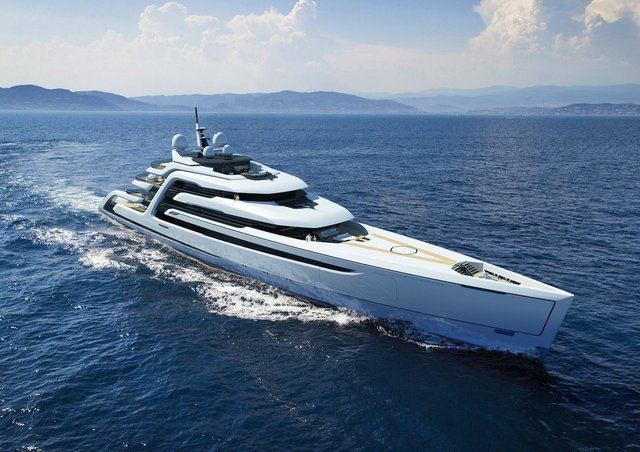 Cuối cùng là Ascendance, một concept của nhà thiết kế Andy Waugh. Concept này sẽ được giới thiệu tại Monaco Yacht Show vào cuối tháng 9.