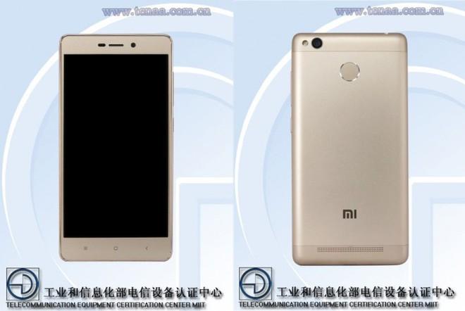 Smartphone Xiaomi kế nhiệm chiếc Redmi 3