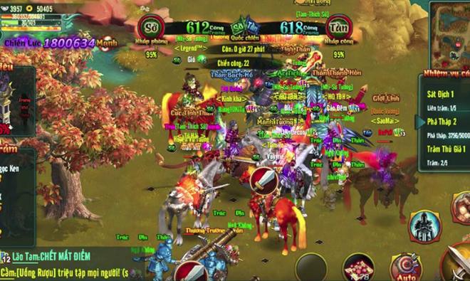 Rất khó xác định được động cơ khiến nhiều game thủ tìm đến Chinh Đồ Mobile thay vì những game online khác cùng thời điểm ra mắt.