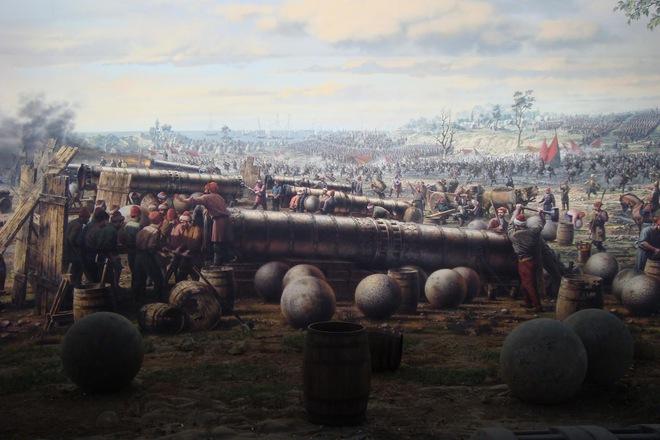 """""""Kẻ xâm chiếm"""" Mehmed đã chiếm phá tòa thành Constantinople bằng những khẩu đại bác khổng lồ."""