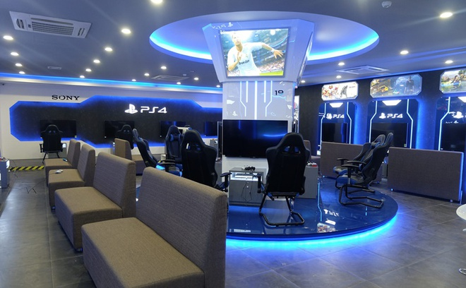 Địa điểm thi đấu Sony PS4 Game Zone.