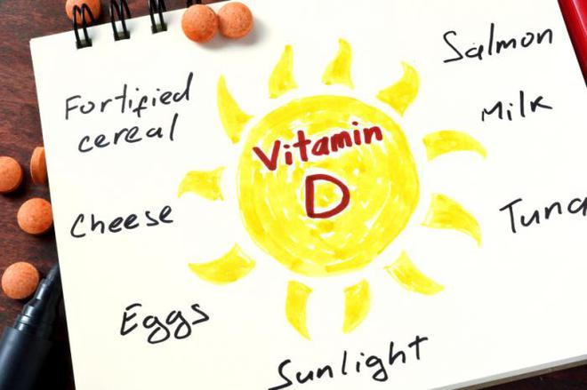 Thực phẩm cũng cung cấp VItamin D cho cơ thể, nhưng quan trọng nhất vẫn là ánh nắng