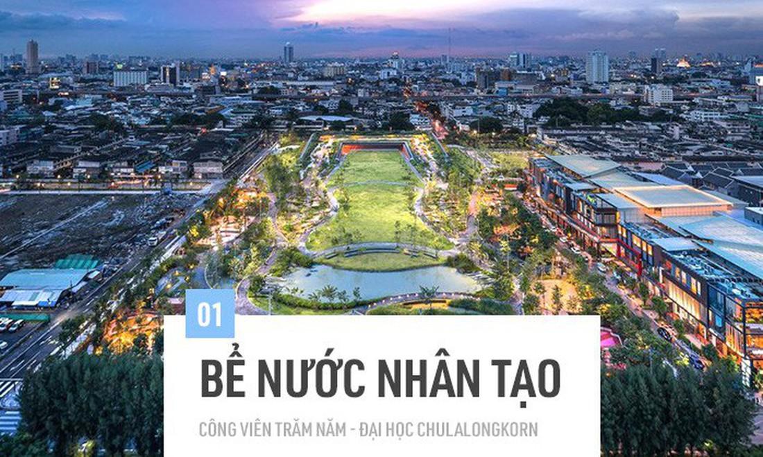 Bangkok đang chìm dần vào lòng biển cả, và đây là dự án vô cùng sáng tạo của người Thái giúp cho thủ đô thoát khỏi nạn úng ngập