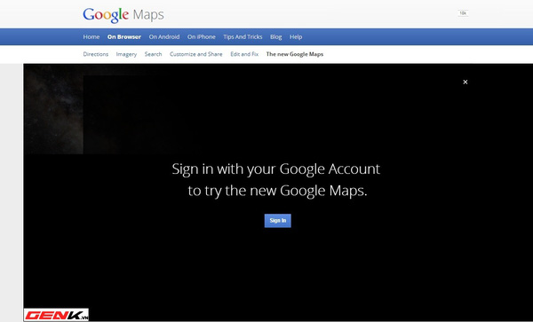 Một số hình ảnh Google Maps phiên bản mới tại Việt Nam