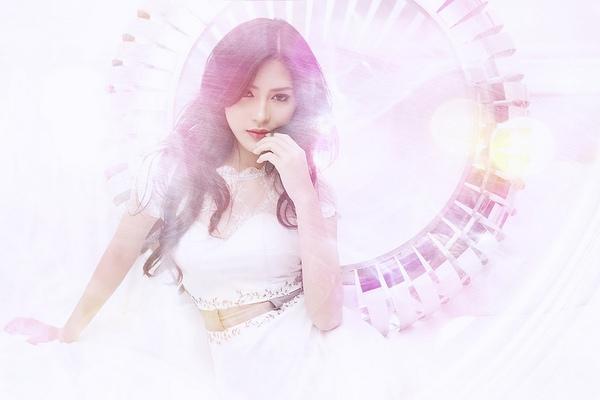Ngắm mỹ nhân đẹp như thiên thần Helly Tống 7