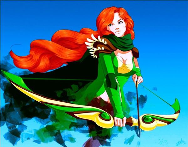 Fan art DOTA 2: Windrunner – đứa con của thần gió 3