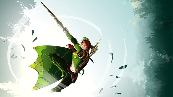 Fan art DOTA 2: Windrunner – đứa con của thần gió 7