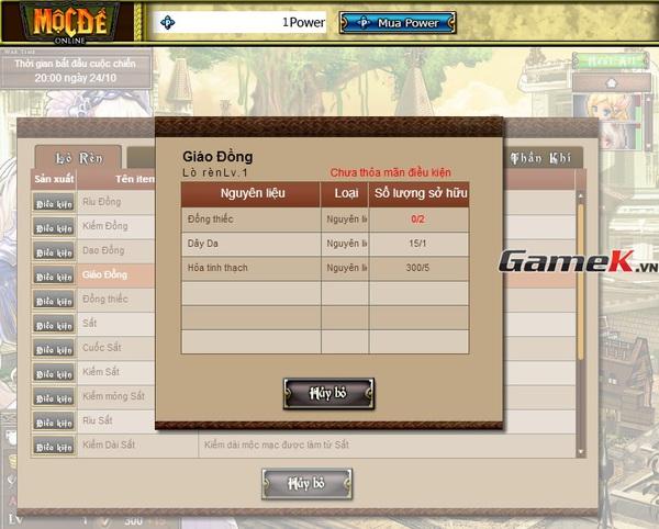 Cùng soi Mộc Đế Online ngày đầu mở cửa ở Việt Nam 4