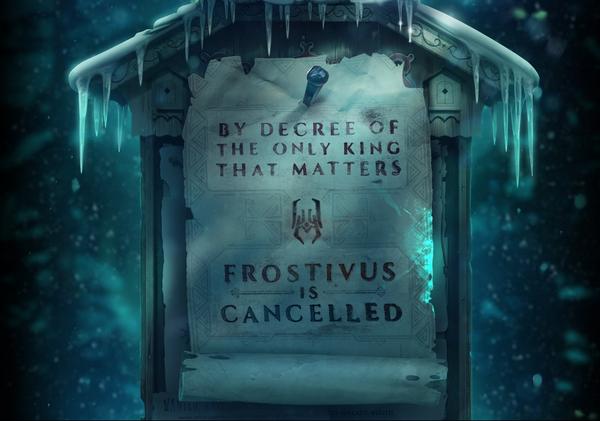 Frostivus của DOTA 2 bị hủy bỏ 1