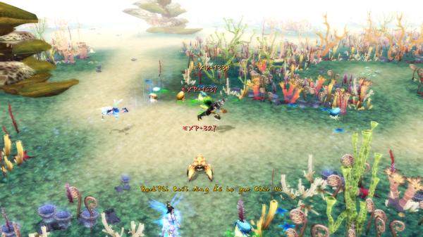 Game thủ bơi như cá trong Thiện Nữ U Hồn 1
