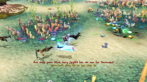 Game thủ bơi như cá trong Thiện Nữ U Hồn 2