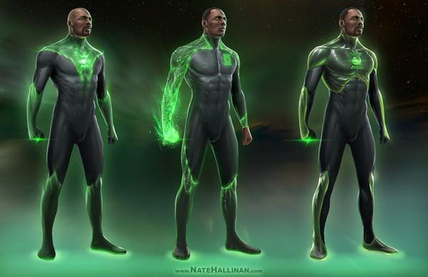 Diễn viên cơ bắp Dwayne Johnson sẽ đóng vai Green Lantern 1