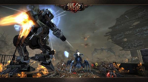 Loạt game online cho phép người chơi điều khiển Robot 8