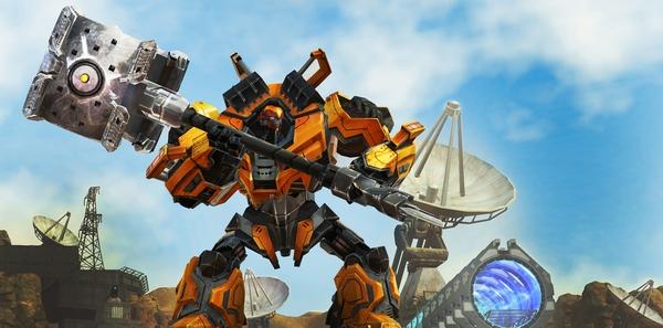 Loạt game online cho phép người chơi điều khiển Robot 2