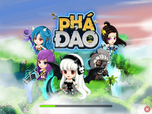 Xuất hiện game mobile Việt có tên... Phá Đảo 1