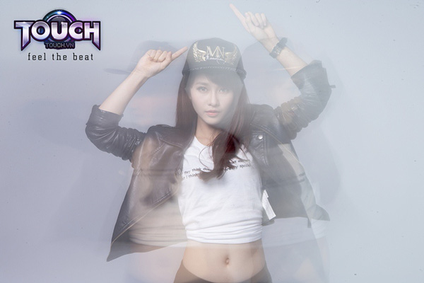 Hot girl Khả Ngân trở lại làm đại sứ game cho TOUCH? 2