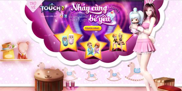 Hot girl Khả Ngân trở lại làm đại sứ game cho TOUCH? 5