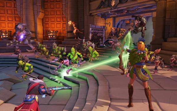 Game lạ đời Orcs Must Die! Unchained sẽ mở cửa miễn phí 2
