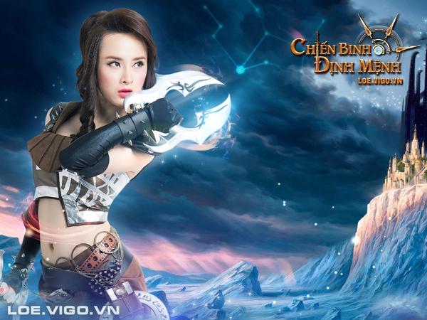 Angela Phương Trinh nóng bỏng với cosplay game 16+ Chiến Binh Định Mệnh 2