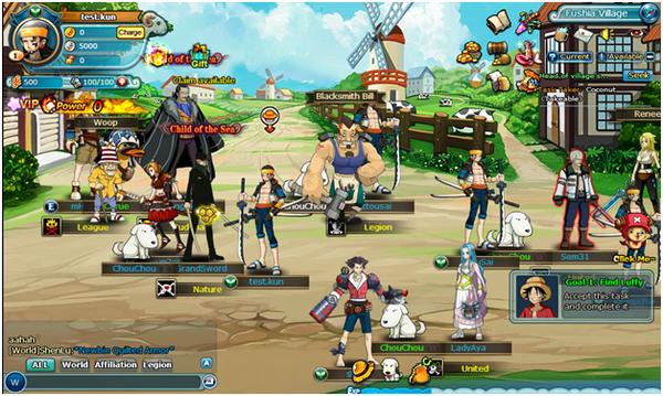 Sắp có thêm game đề tài One Piece về Việt Nam 3