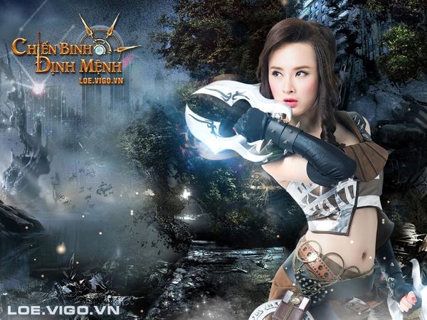 Angela Phương Trinh nóng bỏng với cosplay game 16+ Chiến Binh Định Mệnh 4