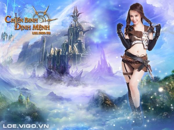 Angela Phương Trinh nóng bỏng với cosplay game 16+ Chiến Binh Định Mệnh 5