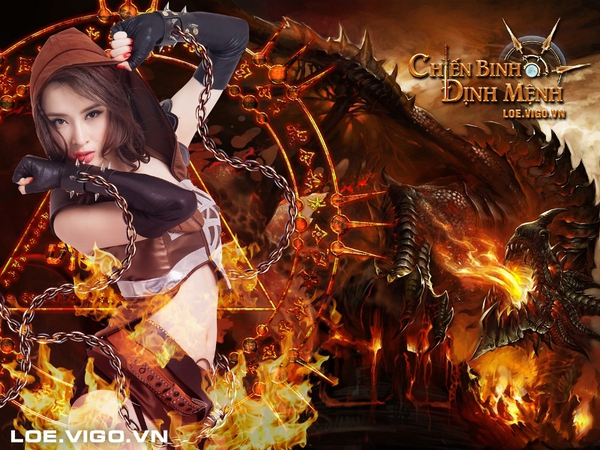 Angela Phương Trinh nóng bỏng với cosplay game 16+ Chiến Binh Định Mệnh 6
