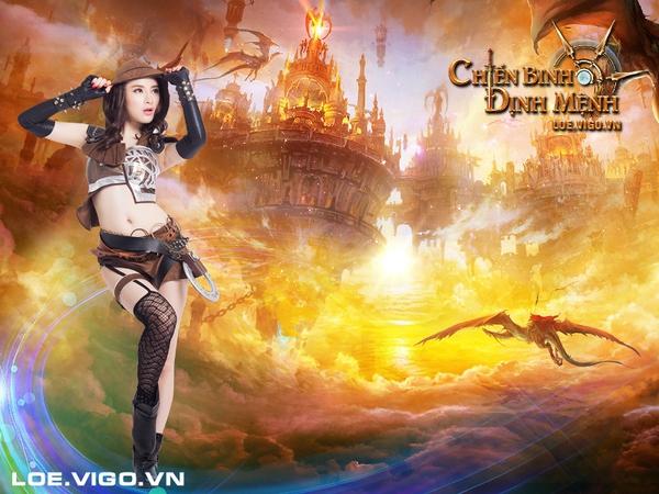 Angela Phương Trinh nóng bỏng với cosplay game 16+ Chiến Binh Định Mệnh 7